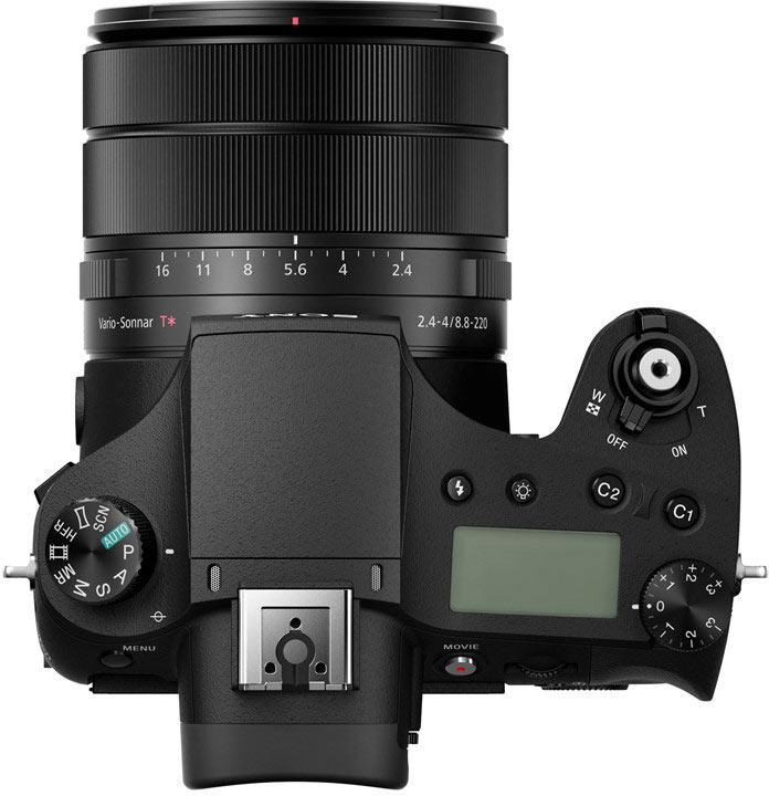 Камера Sony Cyber-shot RX10 III позволяет снимать видео 4К