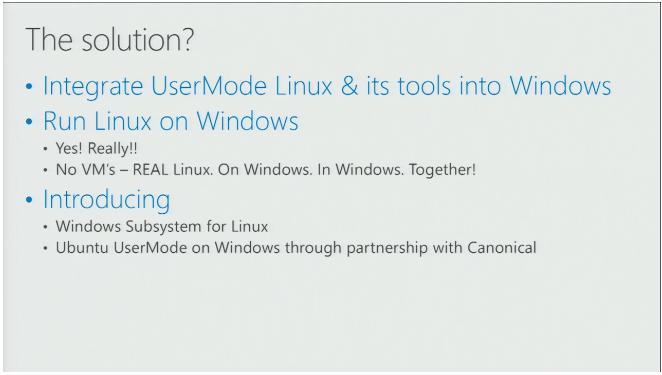 Microsoft подтвердила слухи об интеграции подсистемы Linux в Windows 10 - 2