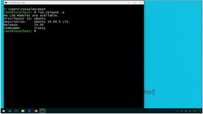 Microsoft подтвердила слухи об интеграции подсистемы Linux в Windows 10 - 4
