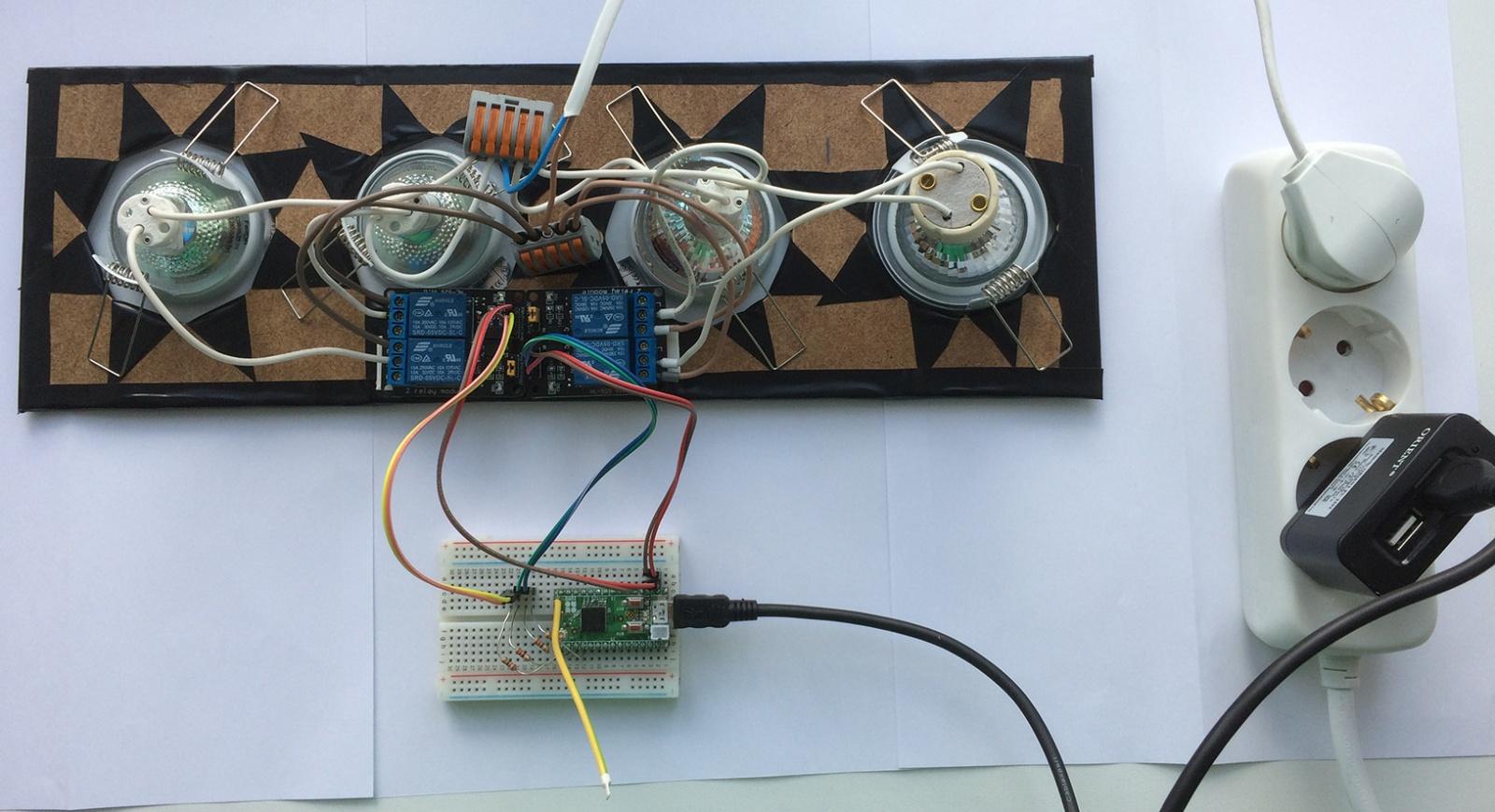 Z-Wave светофор на базе платы Z-UNO - 3