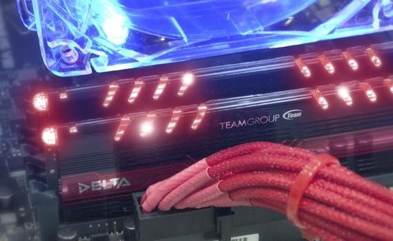 Модули оперативной памяти Team Group Delta DDR4 поддерживают технологию Intel XMP 2.0