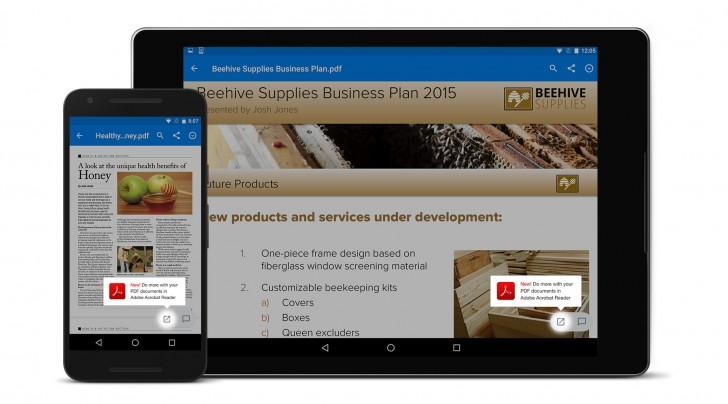 Новые версии приложений Acrobat Reader и Dropbox доступны в каталоге Google Play