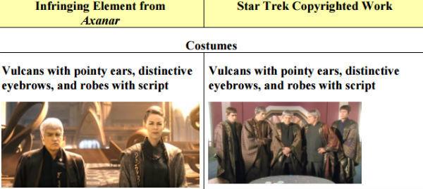 Распространяется ли копирайт на клингонский язык и фазеры Звёздного флота? - 3