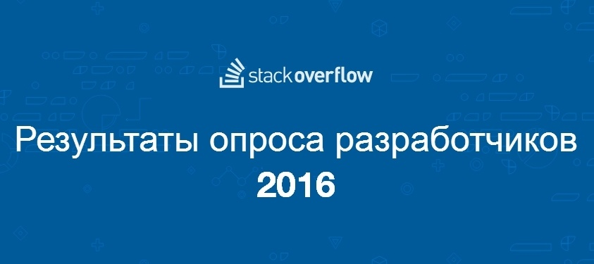 Результаты большого опроса среди разработчиков всех стран за 2016 год - 1