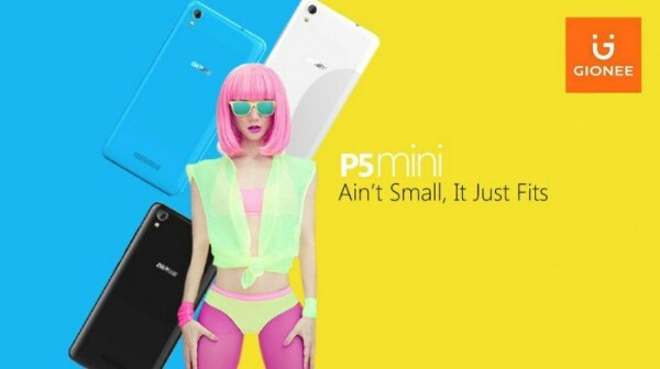 Данных о цене Gionee P5 Mini пока нет