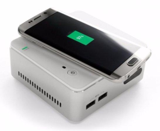 ECS Live Station- новый неттоп с беспроводной подзарядкой для гаджетов