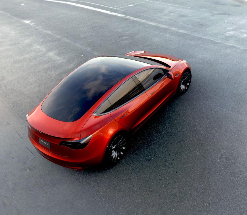 Tesla Model 3 официально представлена. Илон Маск говорит о 115 тысячах предзаказов - 2