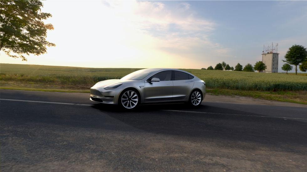 Tesla Model 3 официально представлена. Илон Маск говорит о 115 тысячах предзаказов - 3