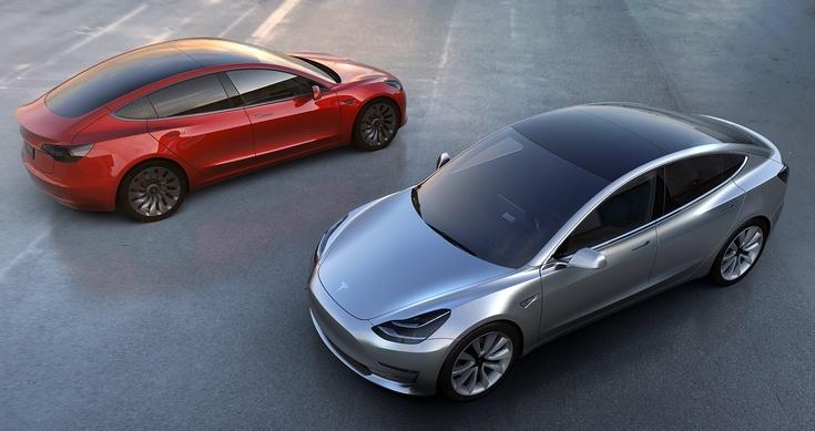 Tesla представила свой первый доступный электромобиль Tesla Model 3