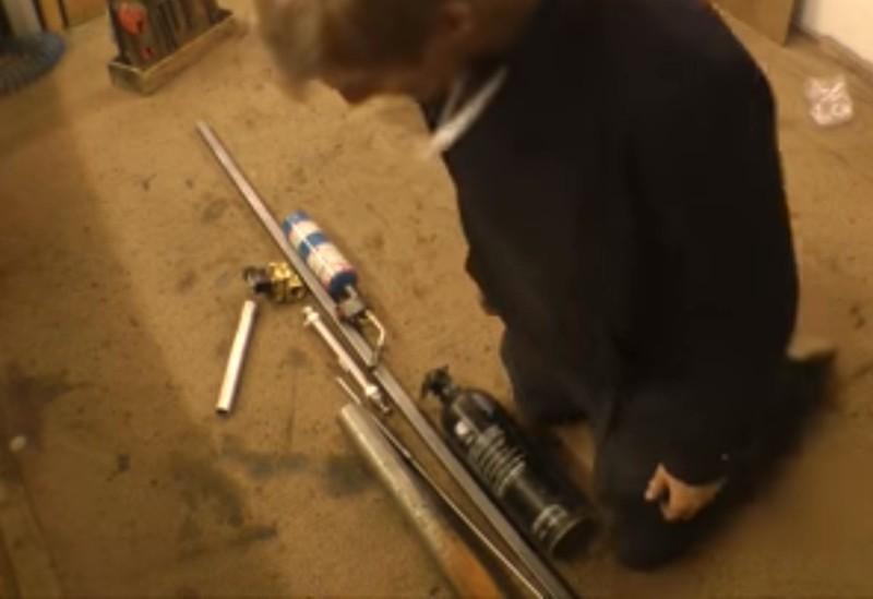 Безумная термитная пушка для тех, кому мало бытового огнемёта (16+) - 2
