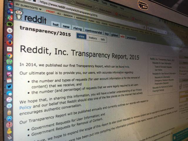 Из нового отчёта Reddit исчезло свидетельство канарейки - 1