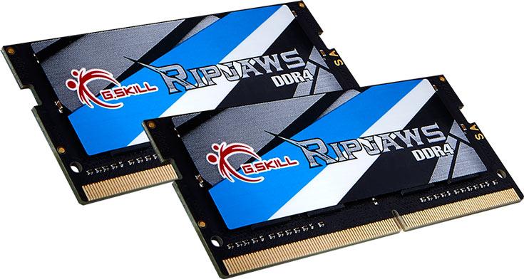 Модули G.Skill Ripjaws DDR4-3000 SODIMM поддерживают профили XMP 2.0