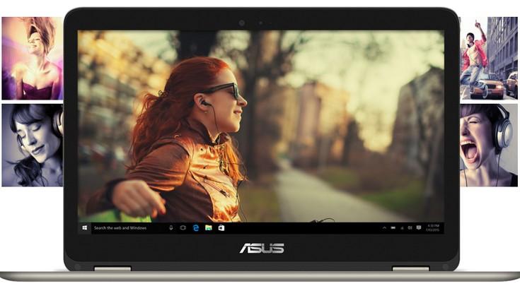 Ноутбук Asus ZenBook Flip UX360CA получил тонкий корпус