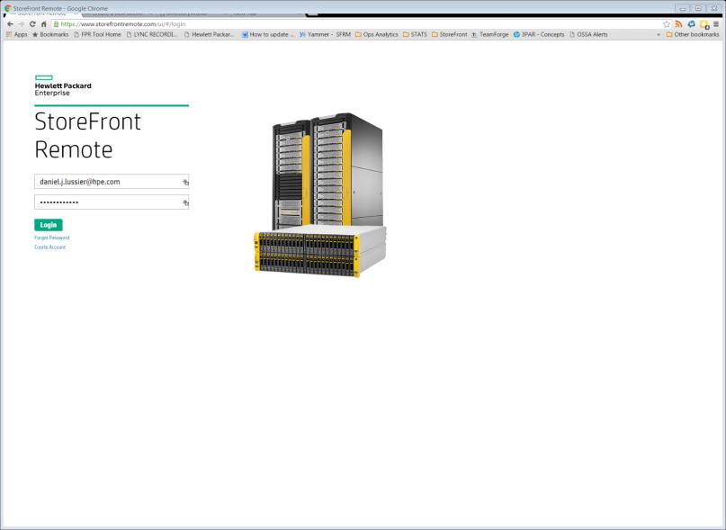 Облачный сервис для мониторинга массивов HPE 3PAR StoreServ - 1