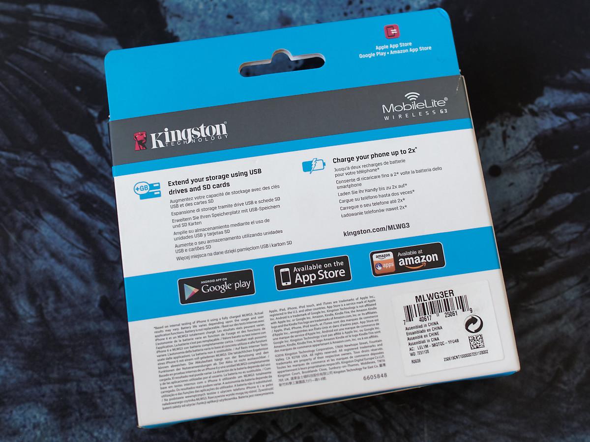 Обзор беспроводного картридера Kingston MobileLite Wireless G3 - 3