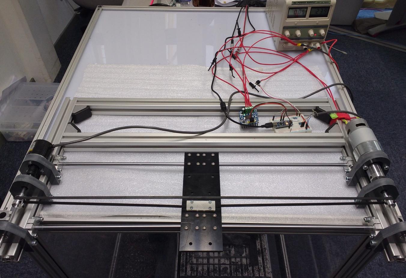 Математика на пальцах: ардуино головного мозга или линейно-квадратичный регулятор для управлением электродвигателем - 2