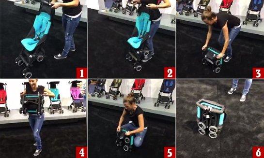 Создана самая миниатюрная в мире коляска