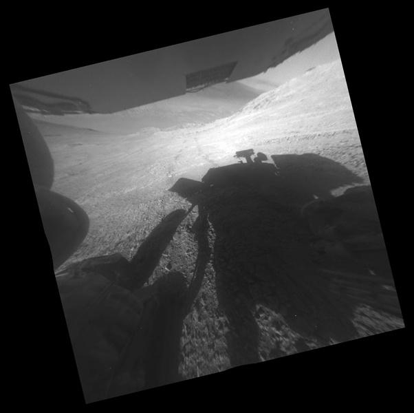 12-летний марсоход Opportunity застрял на крутом холме - 2