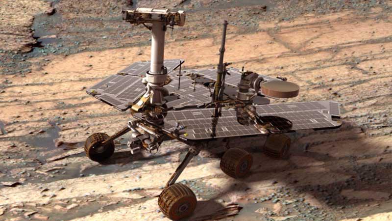 12-летний марсоход Opportunity застрял на крутом холме - 1