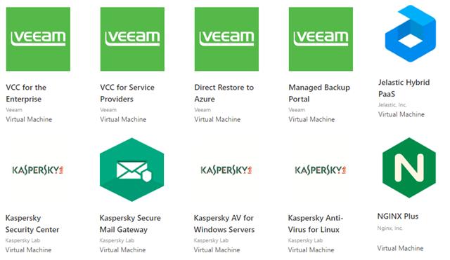 Анонс русскоязычного каталога решений независимых разработчиков сертифицированных для Microsoft Azure - 3