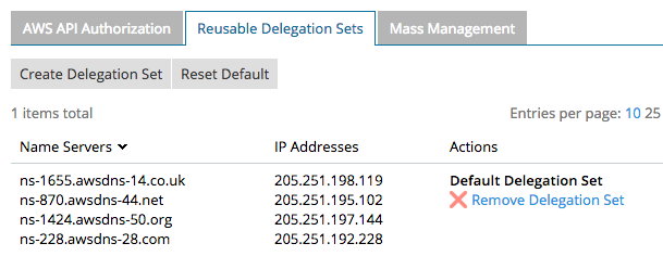 Брэндированный DNS или white labeling на Amazon Route 53 - 4