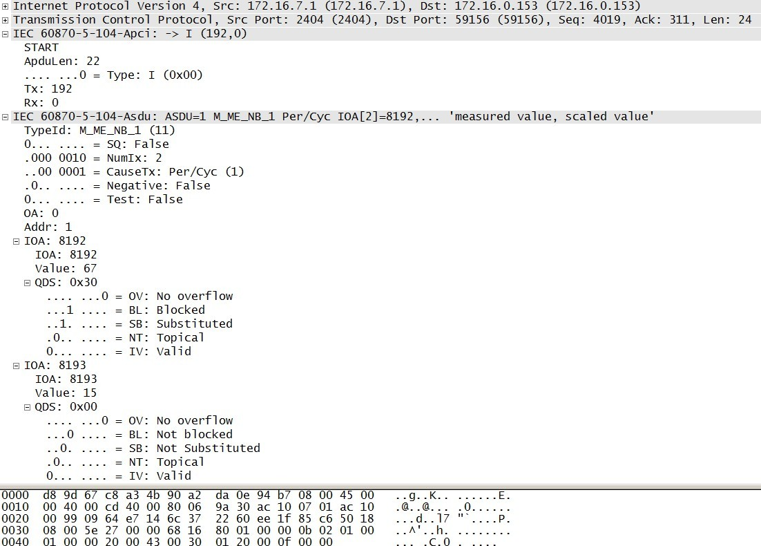 Как я писал библиотеку под МЭК 870-5-104 на Arduino при помощи Wireshark - 21