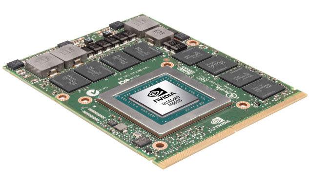 В мобильной 3D-карте Nvidia Quadro M5500M с 8 ГБ памяти используется GPU GM204