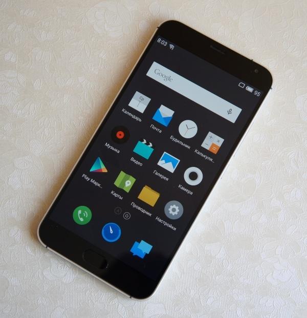Смартфон Meizu MX5E получил новую камеру