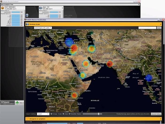 Palantir: торговля оружием и распространение пандемии - 24