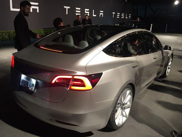 Tesla Model 3. Что о новой модели электромобиля известно на данный момент? - 1