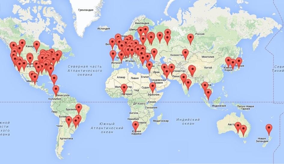 День космонавтики-2016: мероприятия по городам - 2