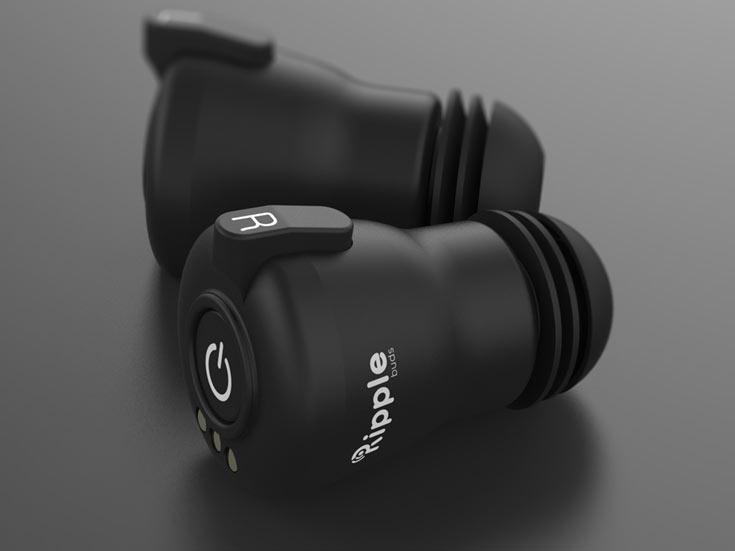 Первые желающие могли приобрести монофоническую версию RippleBuds за $79, стереофоническую — за $99