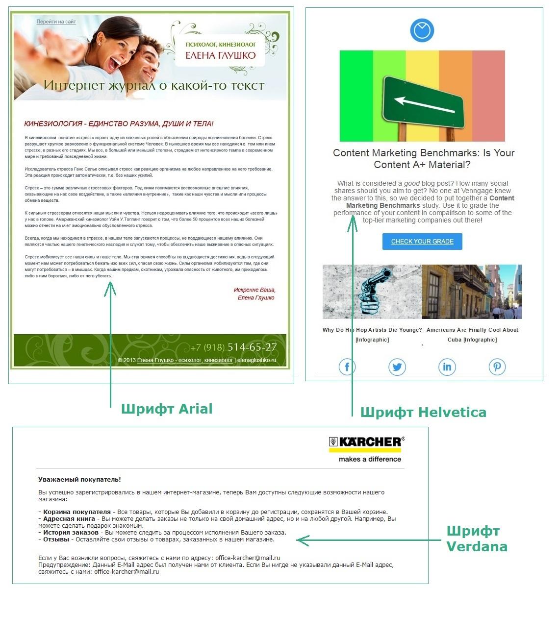 A-B тестирование для email писем. 30 идей тестов - 5