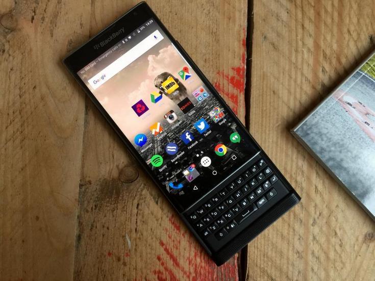 Смартфон BlackBerry Priv теперь стоит $650