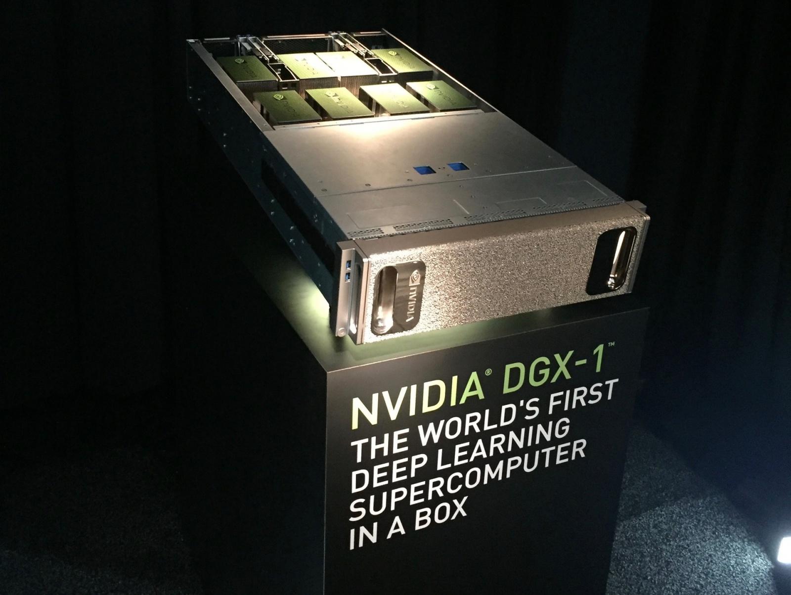 NVIDIA представила новую архитектуру Pascal, ориентированную на искусственный интеллект - 1