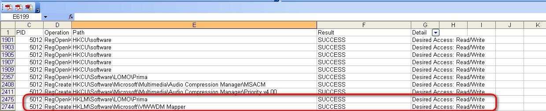 Process Monitor или как заставить ПО работать под пользователем - 8