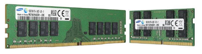 Samsung планирует использовать новые микросхемы памяти в широком спектре модулей памяти