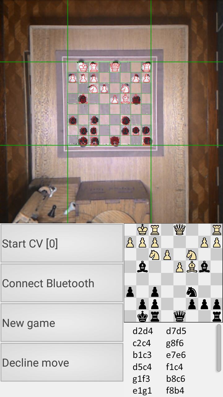 Деревянный робот, который умеет играть в шахматы - 2