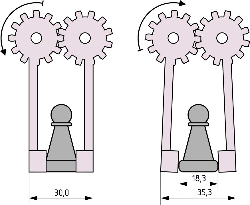 Деревянный робот, который умеет играть в шахматы - 6