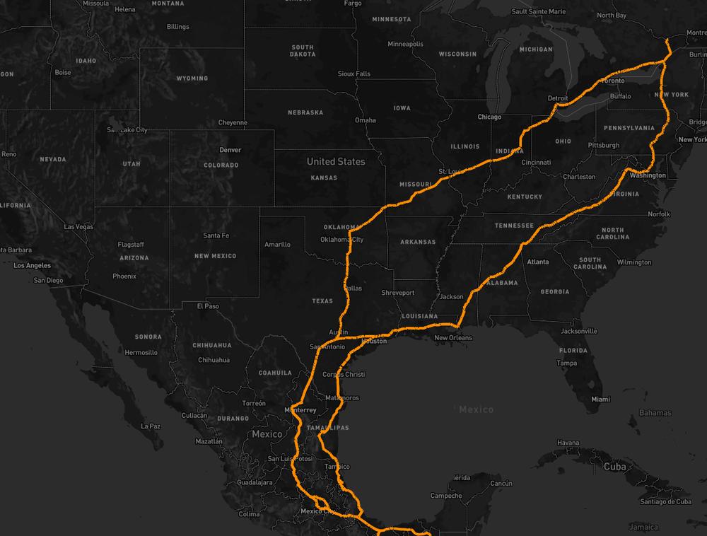 Дорожная сеть OpenStreetMap - 3