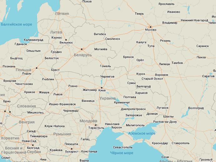 Дорожная сеть OpenStreetMap - 6