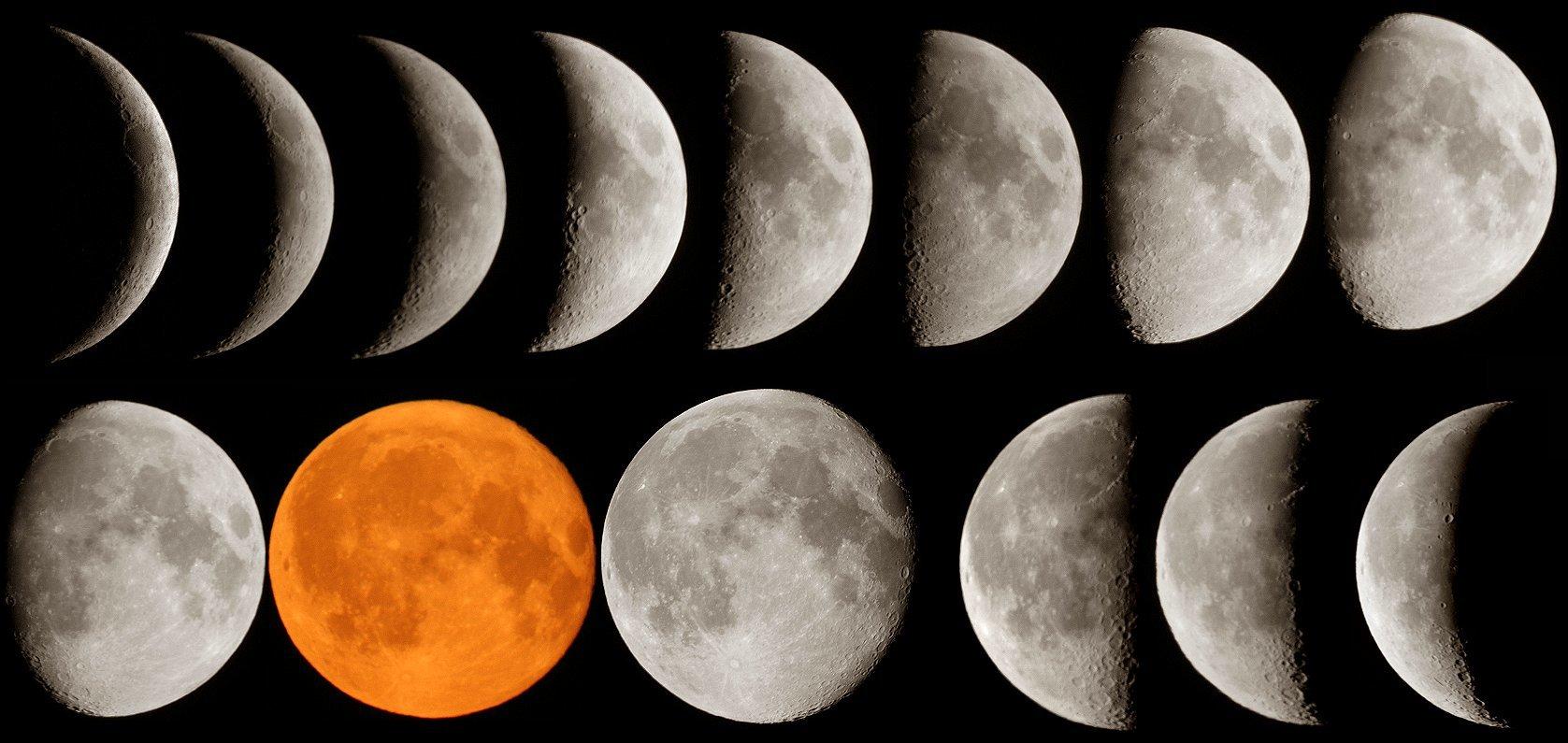 И снова про фотографирование Луны подручными средствами - 7