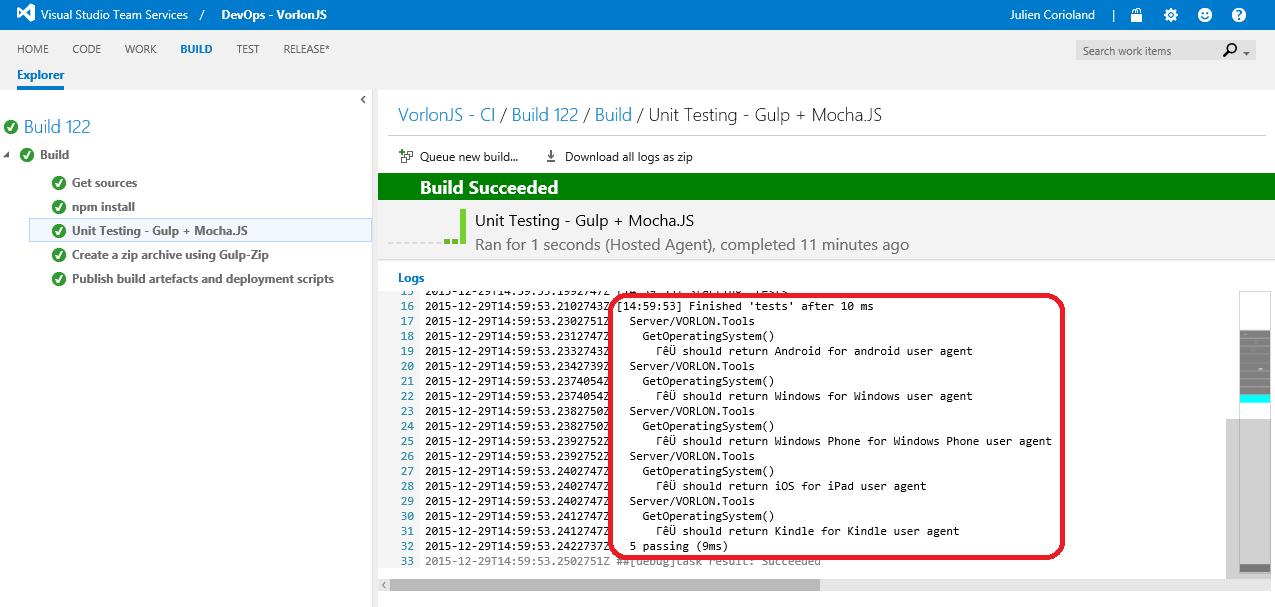 Как мы внедряли DevOps: непрерывная интеграция с GitHub и системой сборки Visual Studio Team Services - 13