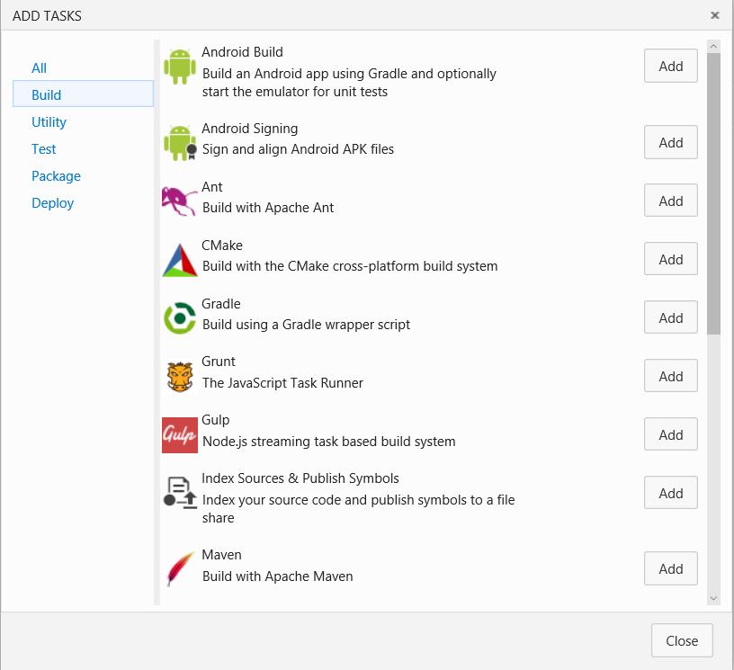 Как мы внедряли DevOps: непрерывная интеграция с GitHub и системой сборки Visual Studio Team Services - 5