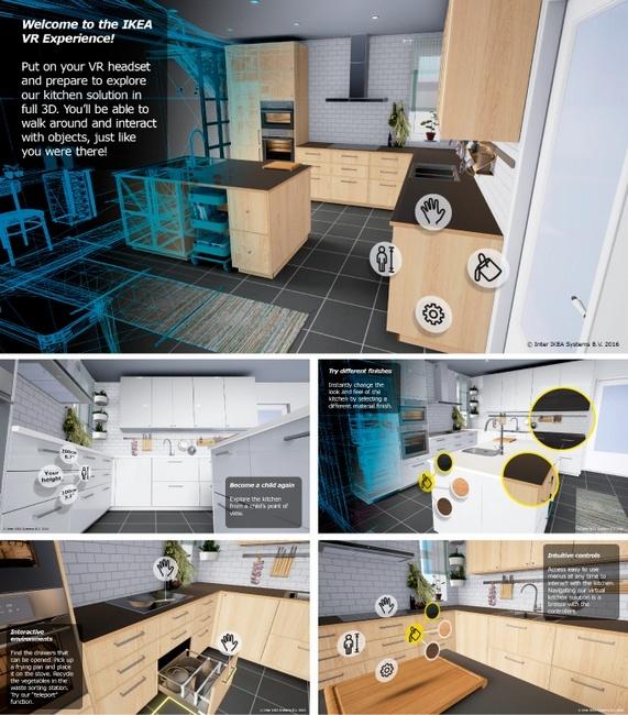 IKEA создала виртуальную кухню